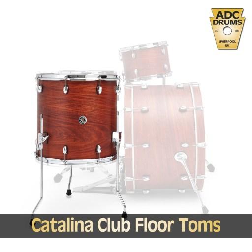 Gretsch Catalina Club Floor Toms 1