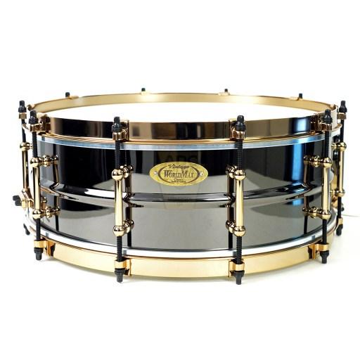 WorldMax-Black-Brass-Gold-HW-SFH-14x5-Snare-Drum