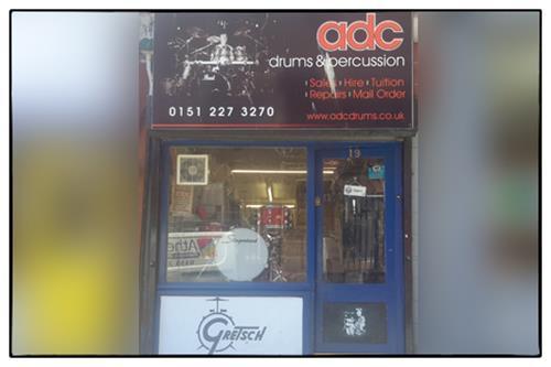 ADC Drums shop front