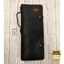 Ahead Armor Black Leather Handmade Stick Bag