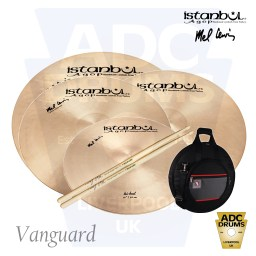 Istanbul Signature Mel Lewis Vanguard Deluxe Cymbal Pack