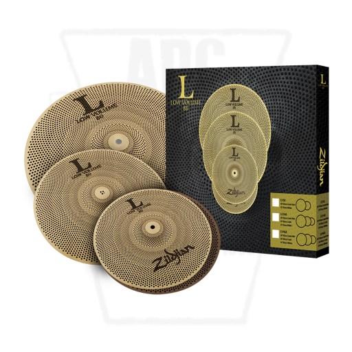 Zildjian LV80 Low Volume Cymbal Set LV348