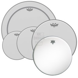 Remo Emperor Coated ProPack w/Bass Drum Head