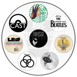 Custom Bass Drum head montage