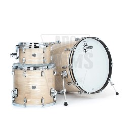 Gretsch Brooklyn_Nitron_Creme_Oyster-3-Piece_shell-pack