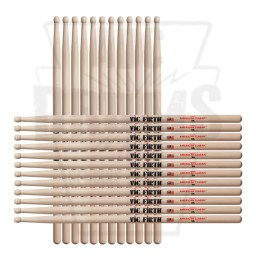 Vic Firth 3A Hickory Wood Tip American Classic Drum Sticks