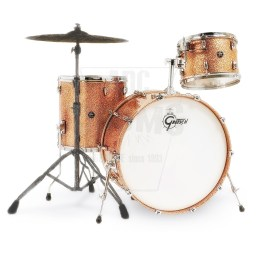 Gretsch Renown Maple 3-piece shell-pack in Copper Premium Sparkle.