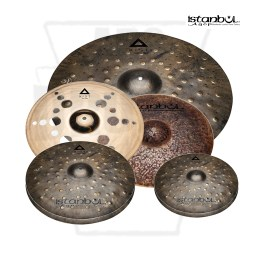 Istanbul Xist Dry Dark Electro Cymbal Pack