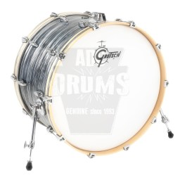 "Gretsch Renown Bass Drum: 18"" x 14"" in Silver Oyster Pearl"