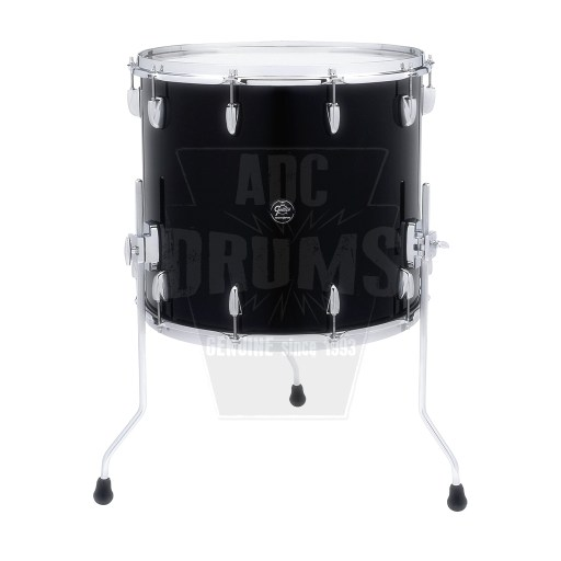 "Gretsch Renown Floor Tom: 16"" x 16"" in Piano Black"