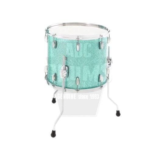 "Gretsch Renown Floor Tom: 16"" x 16"" in Turquoise Premium Sparkle"