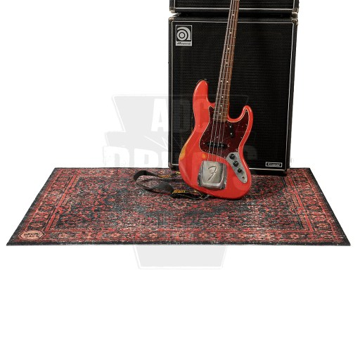 DRUMnBASE_Vintage_Persian_Stage_Mat-Red+Bass