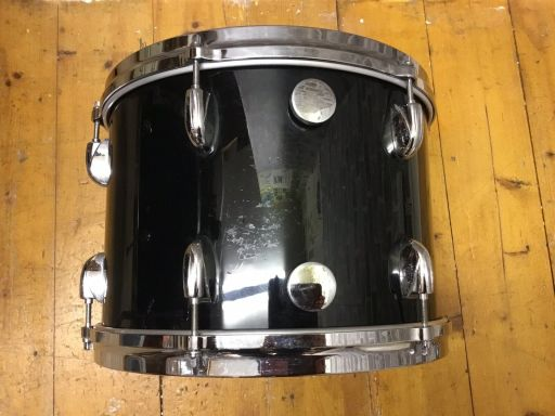 Vintage Gretsch Drums, 1980s USA Shell-Pack, Nitron Black 2