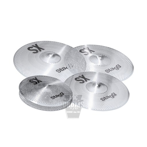 Stagg SXM Low Volume cymbals set