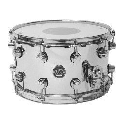 DW Performance Series Steel Snare Drum, 14 inches wide, 8 inches deep