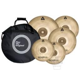 istanbul xist 4 piece brilliant cymbal set
