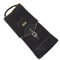 Tackle waxed canvas stick bagin black
