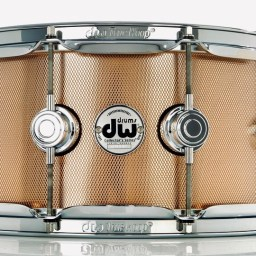 """DW Drums Collector's Series 14"""" x 6.5"""" Bell Bronze Snare Drum 1"""