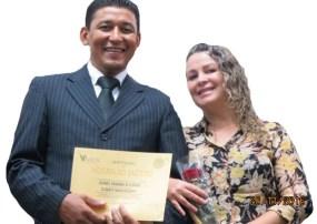 Pastor Alencar e sua esposa Bete Mesquita