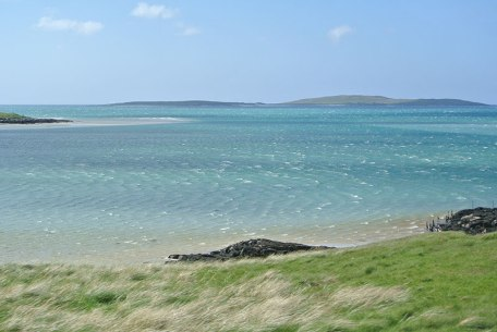 North Uist colours and sea