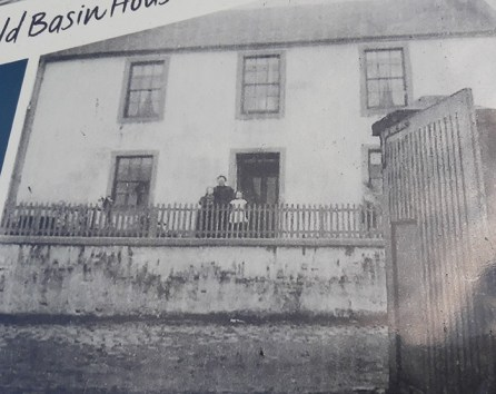 Old Basin House in old times, Glasgow