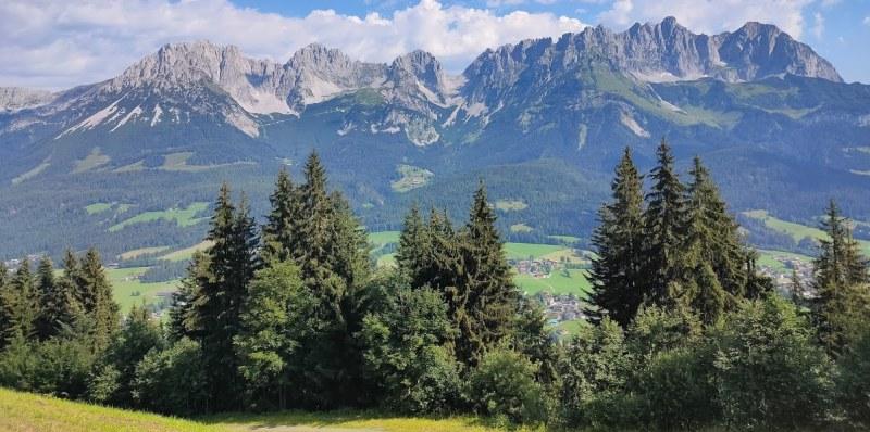 uitzicht Wilder Kaiser