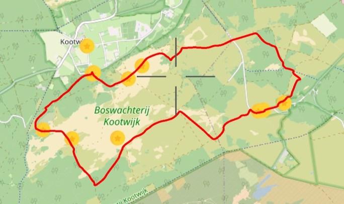 Wandelen Kootwijk