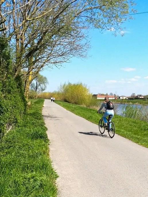 Fietsroute tussen de Leie en de Schelde