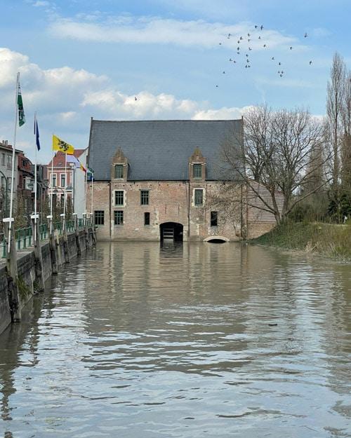 Watermolen Mercatorplein Steendorp