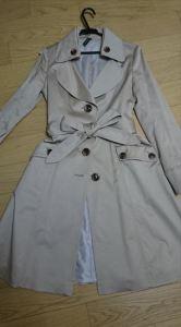 冬アウター定番レディースもので着回ししやすいコート3 トレンチコート
