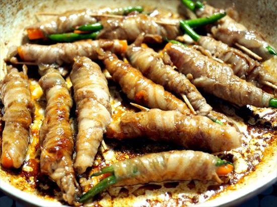 野菜の肉巻き甘辛味付けで子供が喜ぶ簡単美味しいレシピ!作り置きの日持ちは?