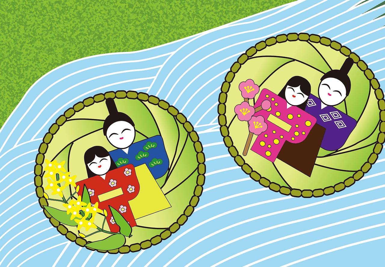 ひな祭り 英語 子供向け 流し雛 説明