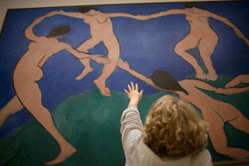 Dreaming of dancing with Matisse.
