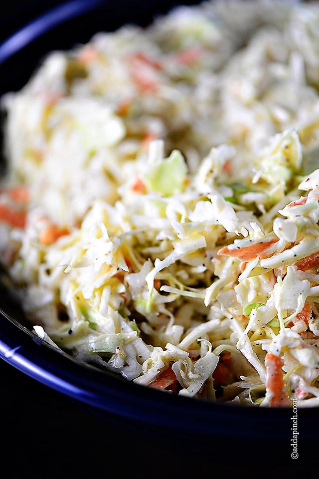 Coleslaw Recipe - Add a Pinch