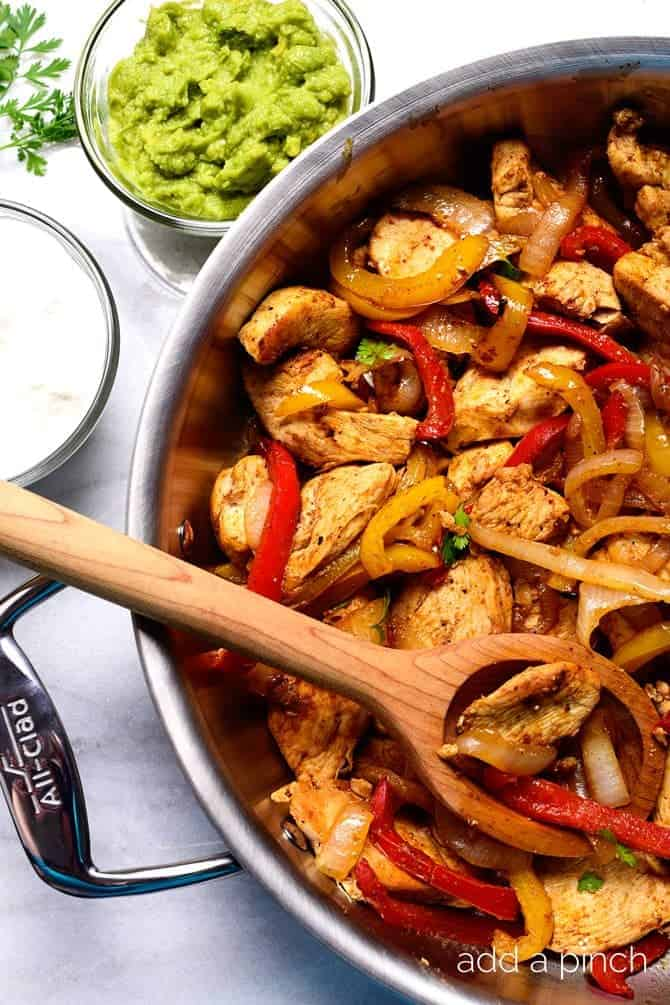 Chicken Fajita Recipe Add A Pinch