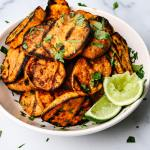 Spicy Grilled Sweet Potatoes Recipe Add A Pinch