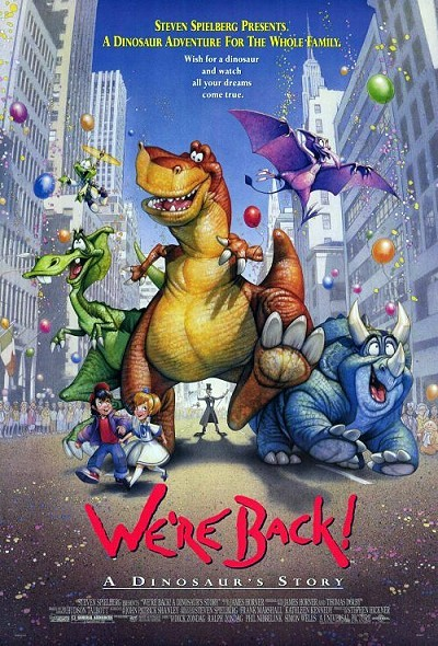 Cartoon Pictures And Video For Were Back A Dinosaurs Story 1993 BCDB