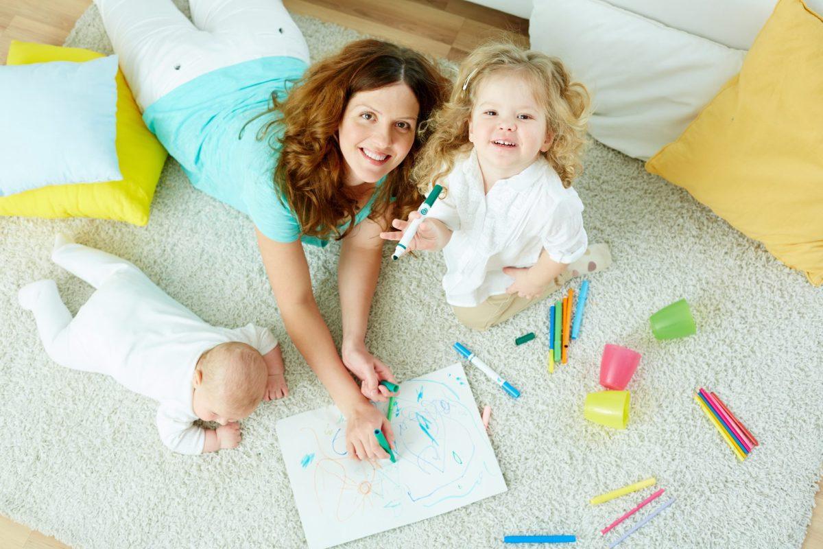 如何準備幼兒的塗鴉環境