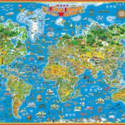 世界印象地圖