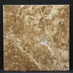 Light Emperador 12x12 Lot 105207 CU