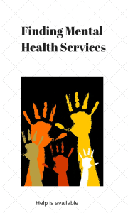 Finding Mental Health Services