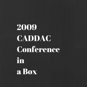 CADDAC Conference ina Box