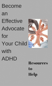"Successfully advocating for your child can be a daunting task. This is an area where finding local resources, organizations or parents who have already gone through the process and will ""teach you the ropes"" can be invaluable."