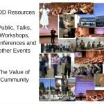 0 1 Talks, Workshops