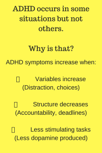 Change you Environment fo ADHD Success at College and Work
