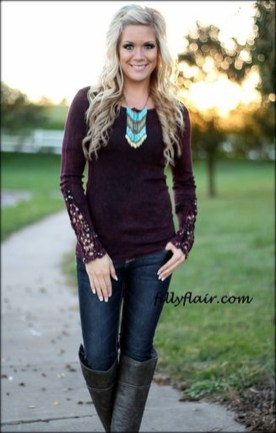 Adorable And Lovely Fall Outfits Ideas To Stand Out From The Crowd25