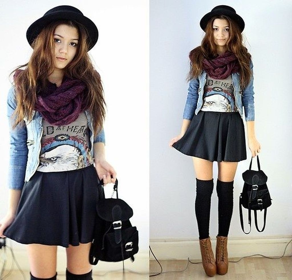 Adorable And Lovely Fall Outfits Ideas To Stand Out From The Crowd35