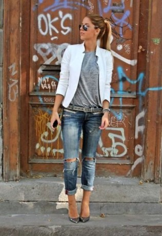 Amazing Fall Outfits Ideas With Blazer38