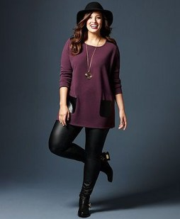 Casual And Comfy Plus Size Fall Outfits Ideas10
