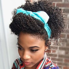 Cool Natural Hairstyles For African American Women14